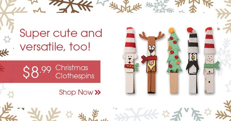 Christmas Clothespins