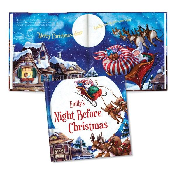 my night before christmas personalized book bas bleu hu0222