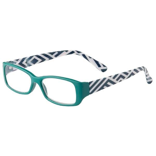 huxley reading glasses teal at bas bleu uk7462