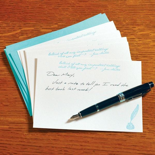 Jane Austen Correspondence Cards