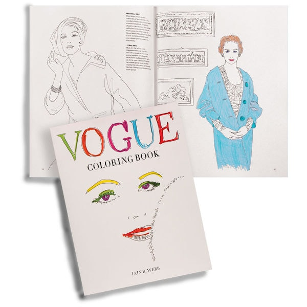 Vogue Coloring Book At Bas Bleu