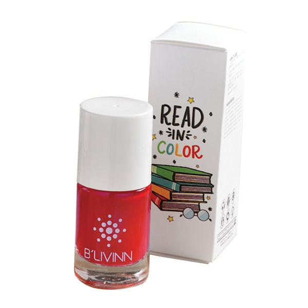 read in color nail polish nancy drews red herring