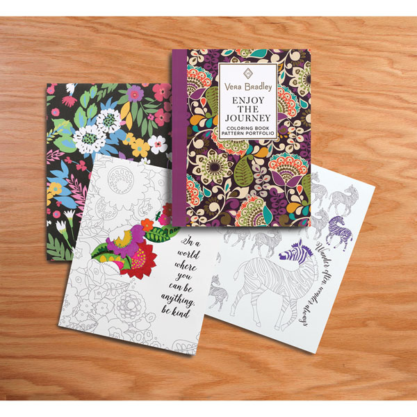 Enjoy The Journey Vera Bradley Coloring Book 1 Review 5 Stars
