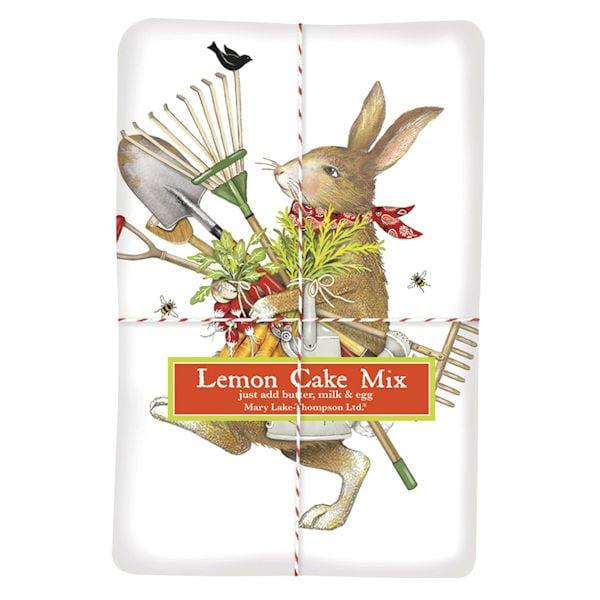 Gardening Bunny Lemon Cake Mix Bas Bleu Up4782