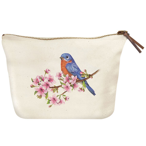 Bird Pouch: Bluebird at Bas Bleu | UP6522