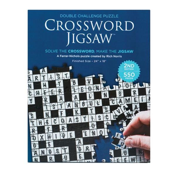 2019 Crossword Jigsaw Puzzle