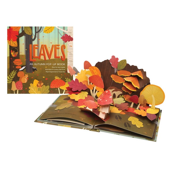 leaves an autumn pop up book