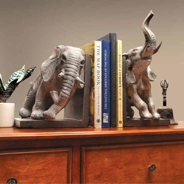 Jumbo Elephant Bookends