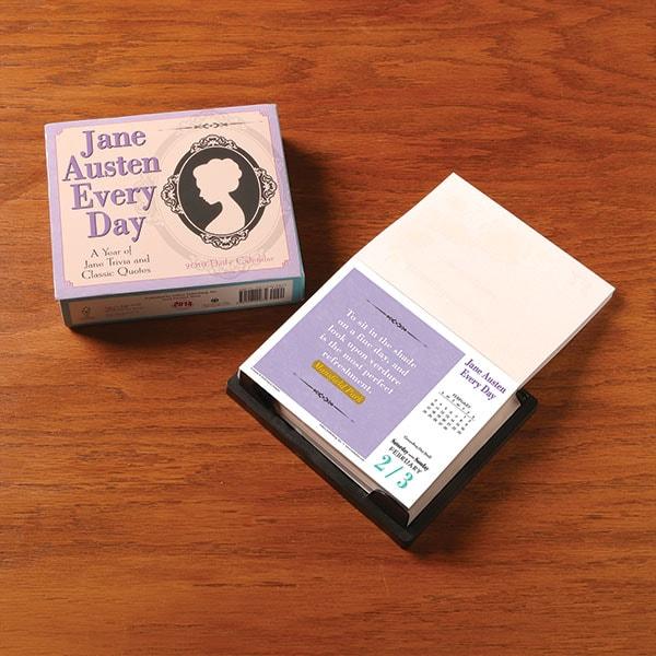 2019 Jane Austen Every Day Calendar