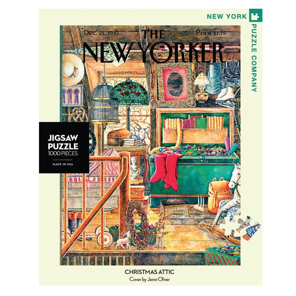 new yorker christmas attic puzzle - Christmas Attic