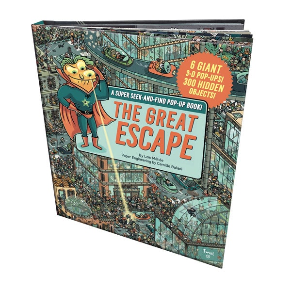 The Great Escape: A Super Seek-and-Find Pop-Up Book!