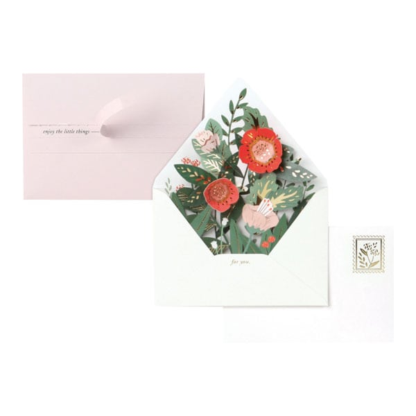 Floral Envelope Pop Up Cards