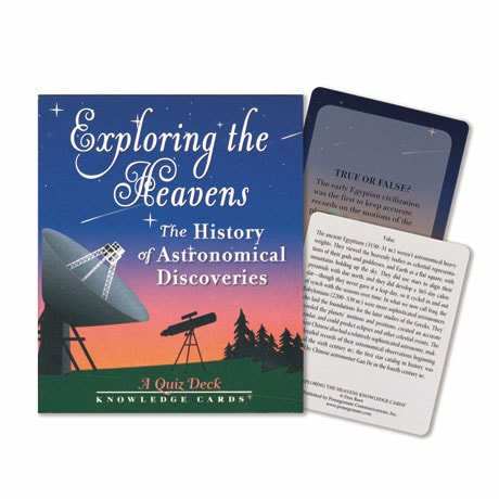 Exploring the Heavens Knowledge Cards