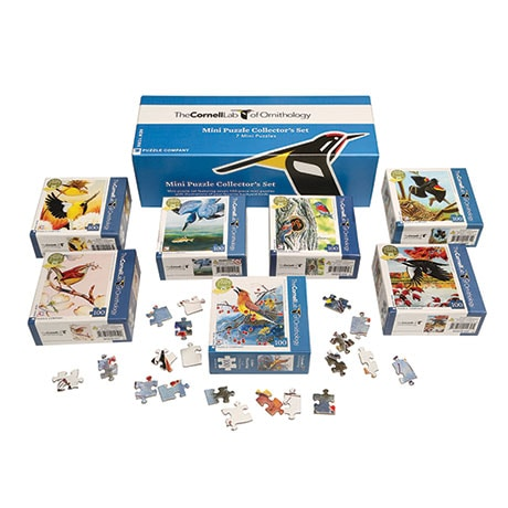 Cornell Lab of Ornithology Mini Puzzle Collector's Set