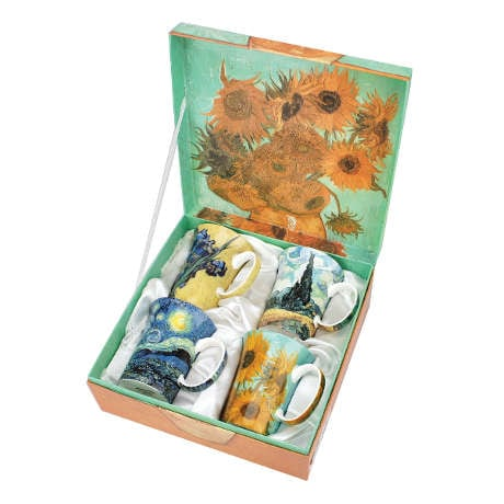 Van Gogh China Mug Set