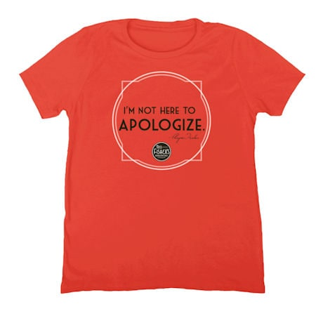 Miss Fisher Tee: Apologize