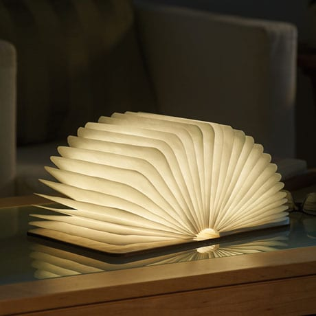 Folding LED Book Lamp