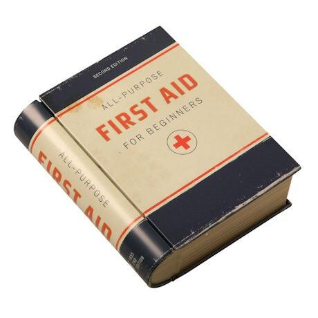 Book Tins: First Aid