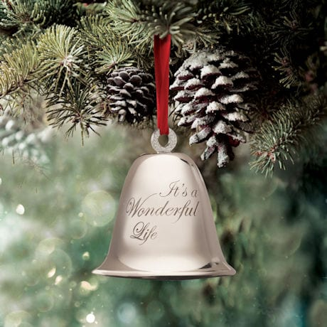 It's a Wonderful Life Bevin Bell Ornament