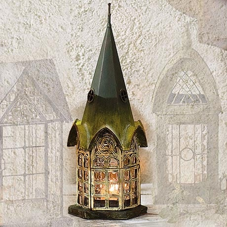 Architectural Candle Lantern - Pickford