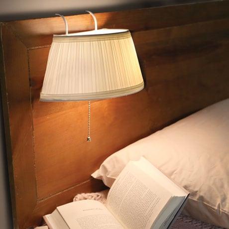 Hanging Headboard Lamp