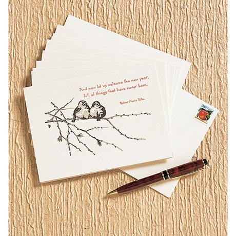 Snowbirds New Year's Cards