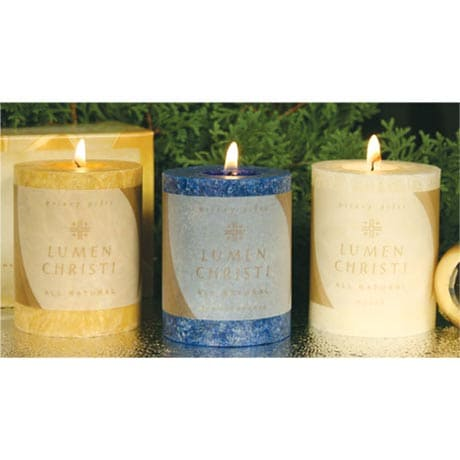 Gold, Frankincense, and Myrrh Candles