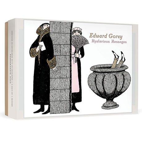 Edward Gory Mysterious Messages Cards