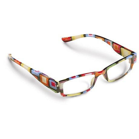 EasyLight LED Reading Glasses with Colorful Blocks