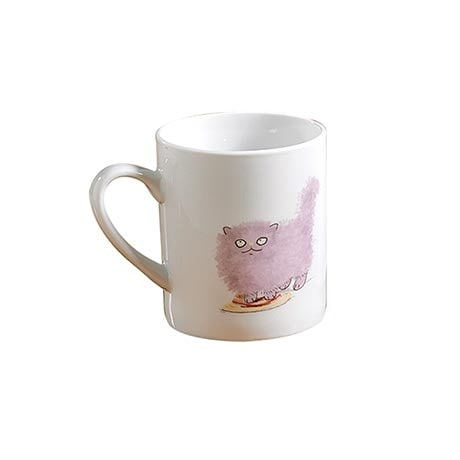 Cats & Hats Mugs - Fluffy & Boater