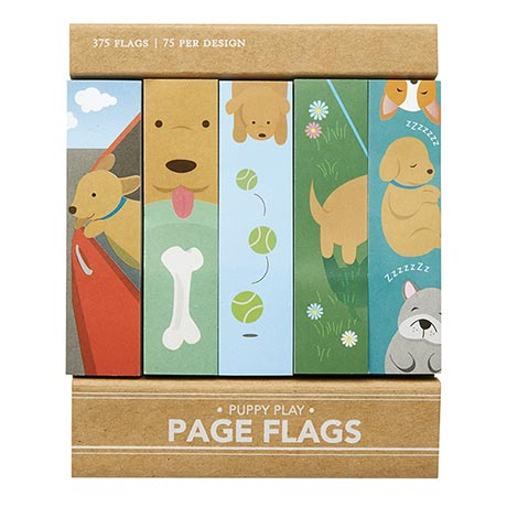 Puppy Play Page Flags