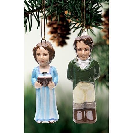 <i>Pride and Prejudice</i> Ornaments