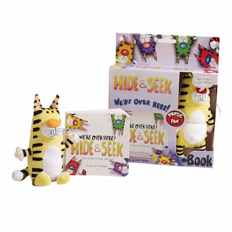 Hide & Seek: The Interactive Plush Toy and Book