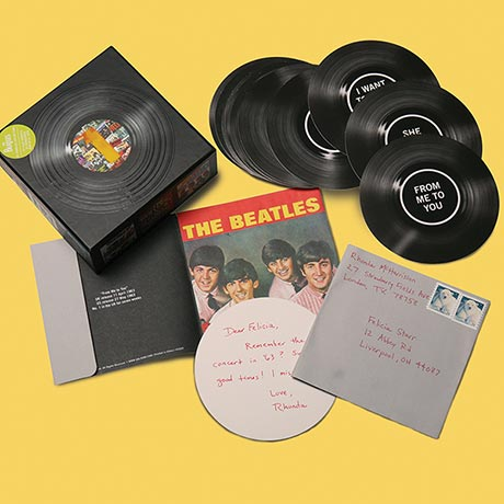 Beatles #1 Singles Note Cards