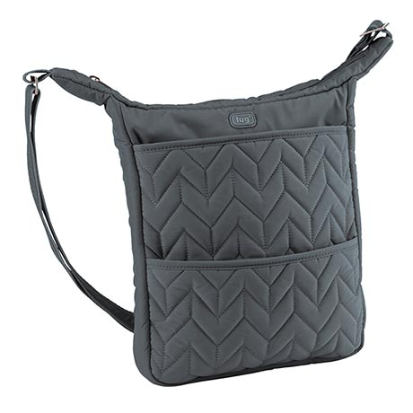Compass Shoulder Pouch - Fog (charcoal gray)