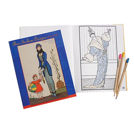 Paris Fashion Designs 1912-1913 Coloring Book