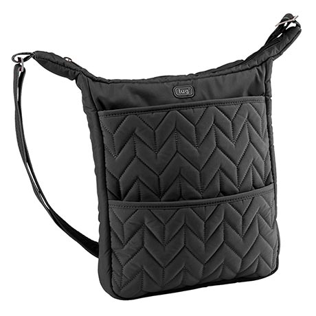 Compass Shoulder Pouch - Midnight (black)