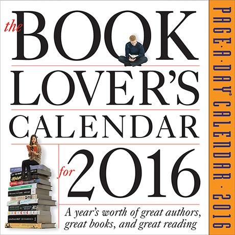 2016 Book Lover's Page-a-Day® Calendar