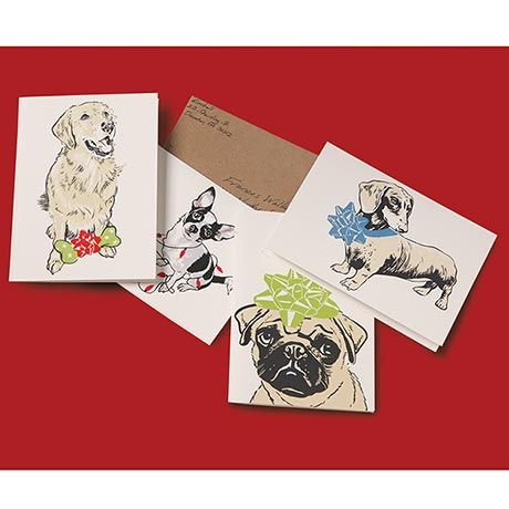 Celebration Dogs Note Cards