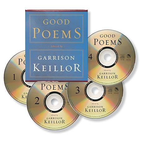 Garrison Keillor's Good Poems CDs