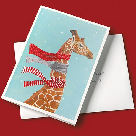 Wrapped in Joy Holiday Cards