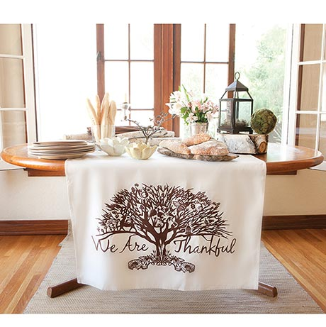 We Are Thankful Table Banner