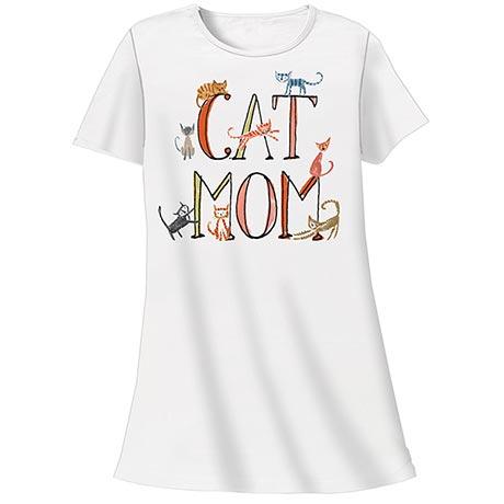 Cat Mom Nightshirt