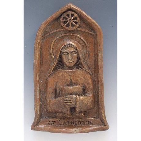 Catherine of Alexandria Statue