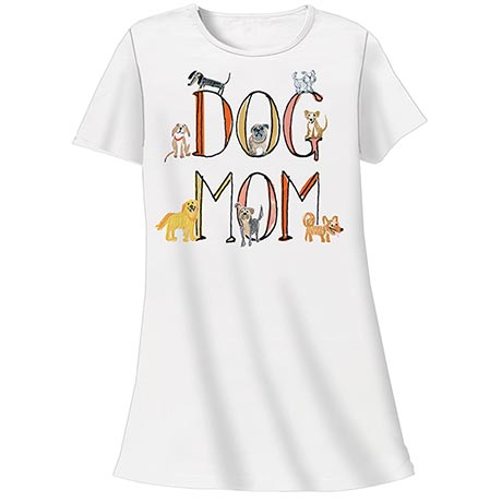 Dog Mom Nightshirt