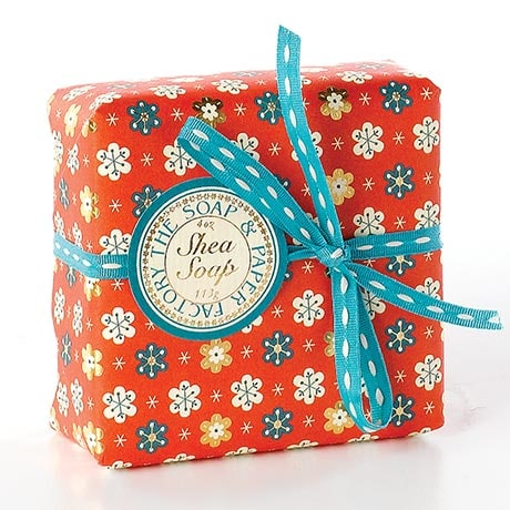 Snowy Peppermint Shea Soap