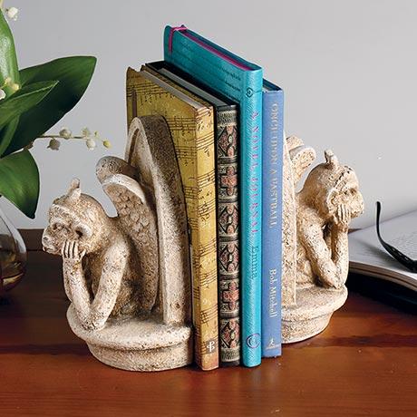 Gargoyle Bookends
