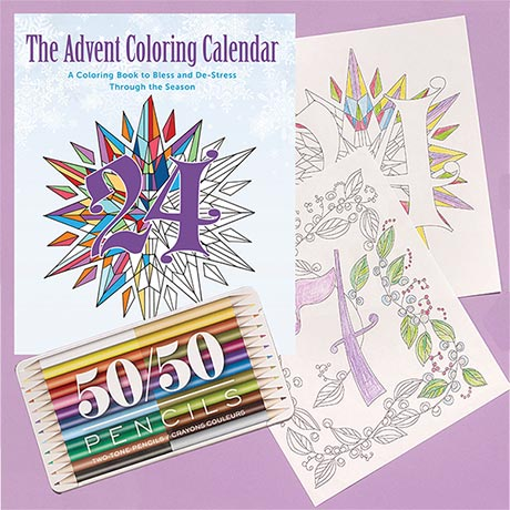 Advent Coloring Calendar