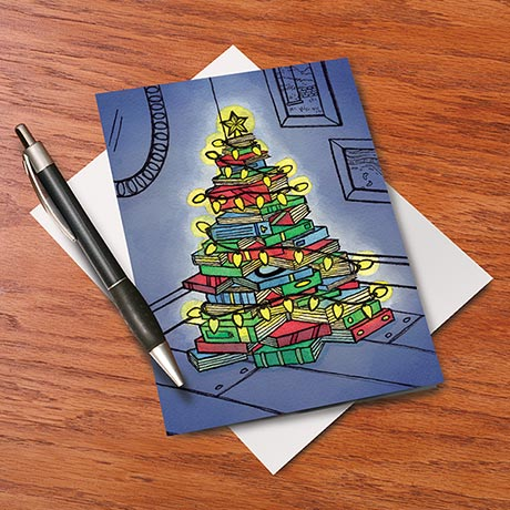 Book Tree Cards