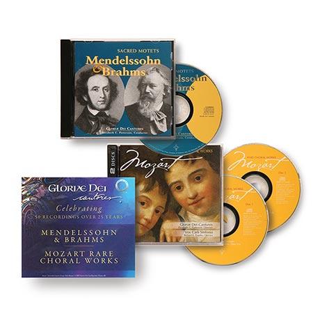 Gloriae Dei Cantores CD Set: Mozart, Mendelssohn and Brahms